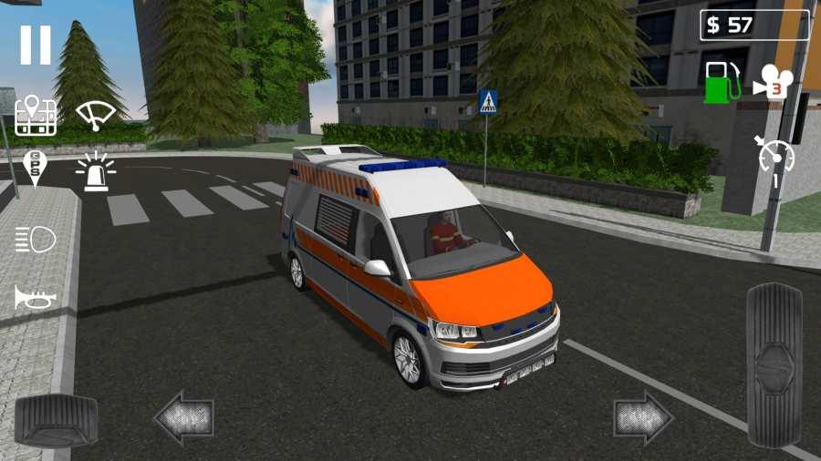 急救车模拟器