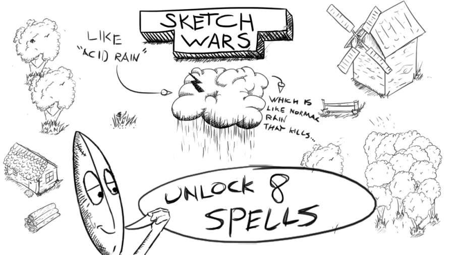素描战争截图1