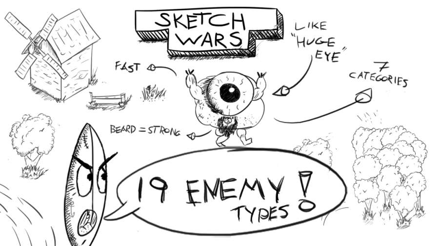 素描战争截图2