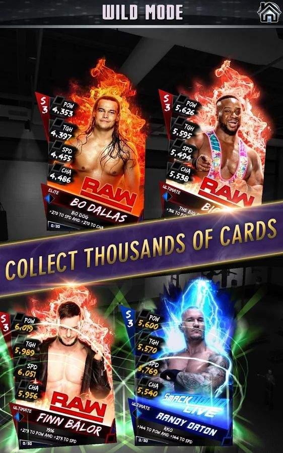 WWE 巨星卡牌截图0