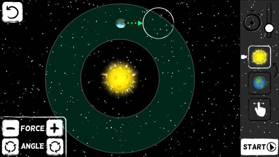 上帝的轨道 - 重力谜题