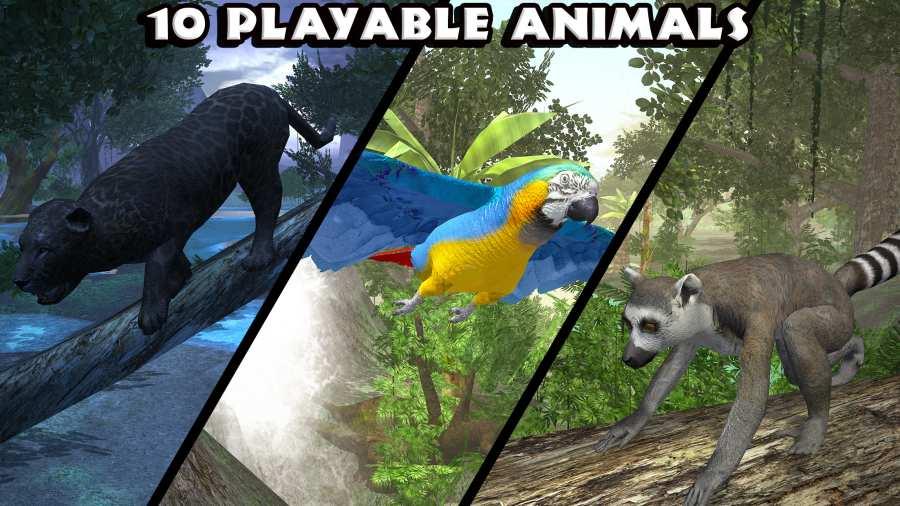 丛林动物模拟器截图4