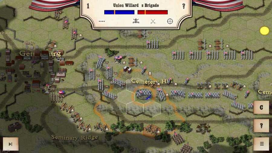 南北战争:葛底斯堡战役截图2