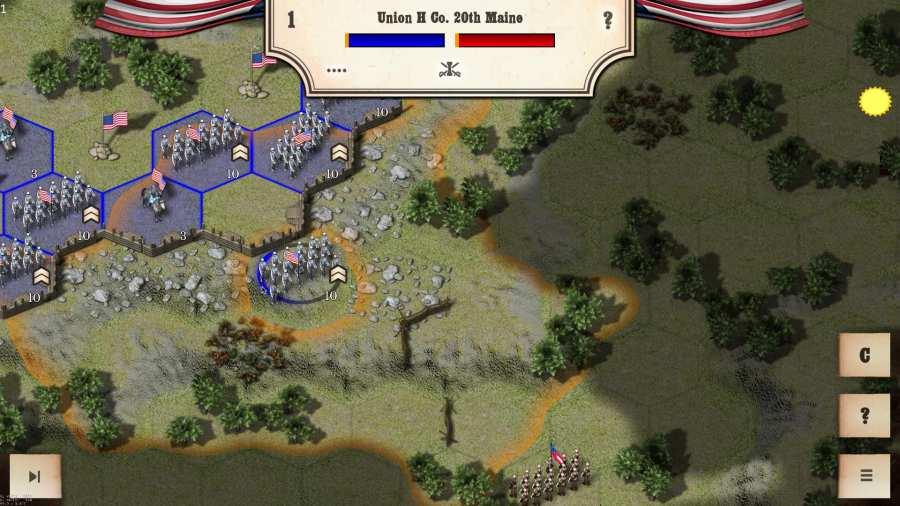 南北战争:葛底斯堡战役截图3