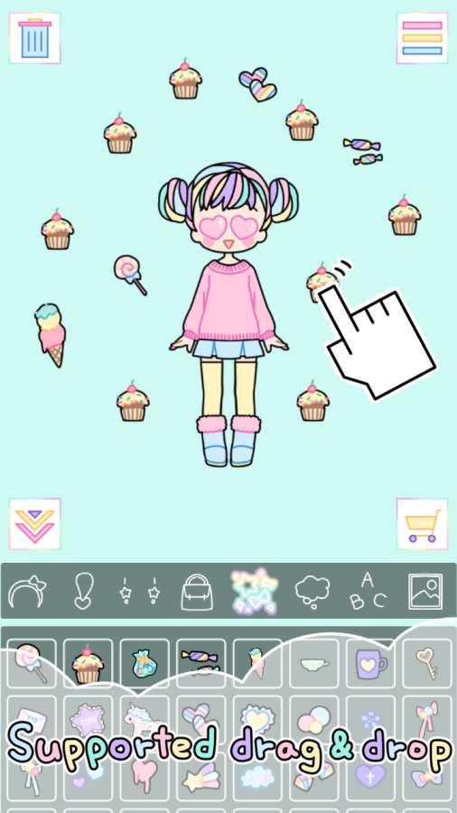 粉彩女孩截图2