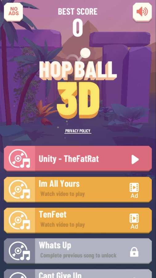 跳球3D截图0