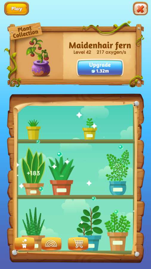 盆栽培植放置游戏截图3