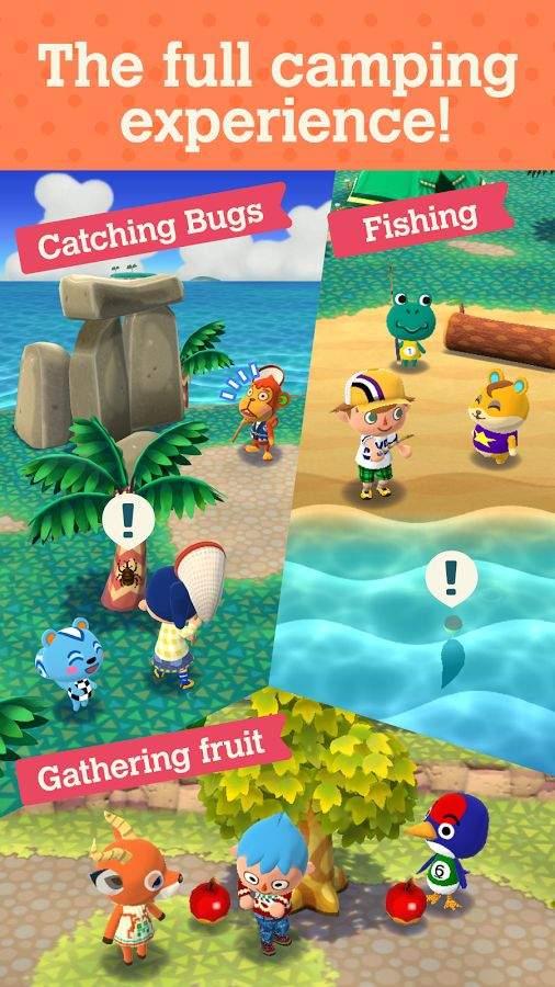 动物之森:口袋露营截图1