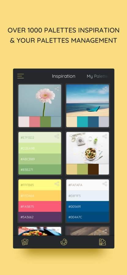 iPalettes - Color palettes 截图0