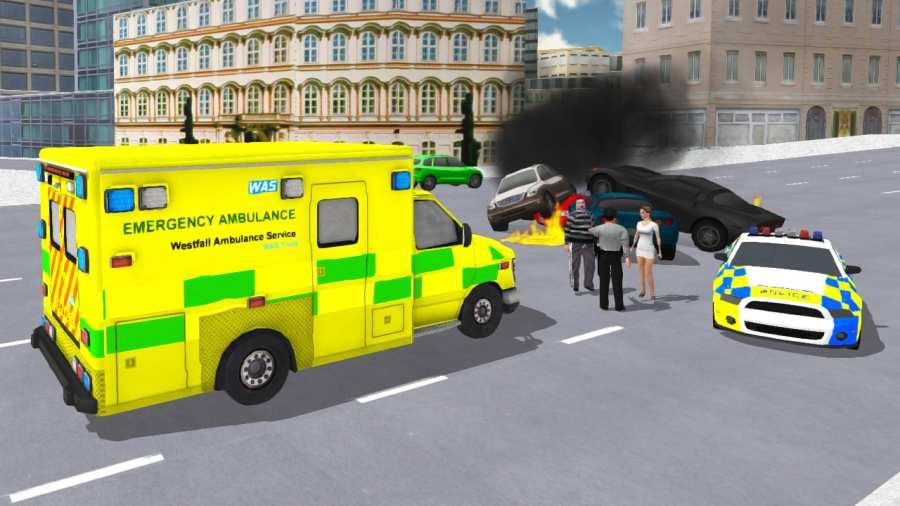 救护车模拟器截图0
