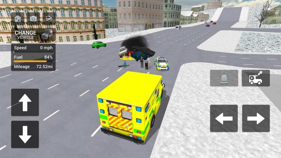 救护车模拟器截图1