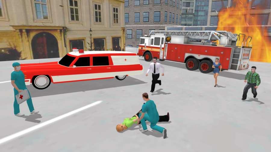 救护车模拟器截图2