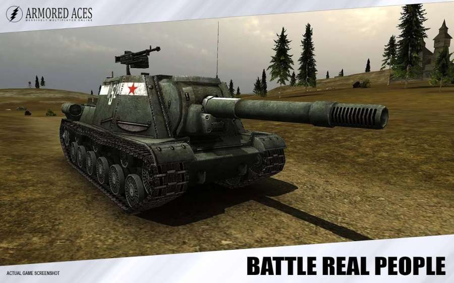 装甲王牌- 3D坦克在线截图3