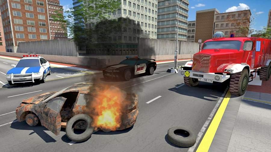 消防车模拟2019截图1