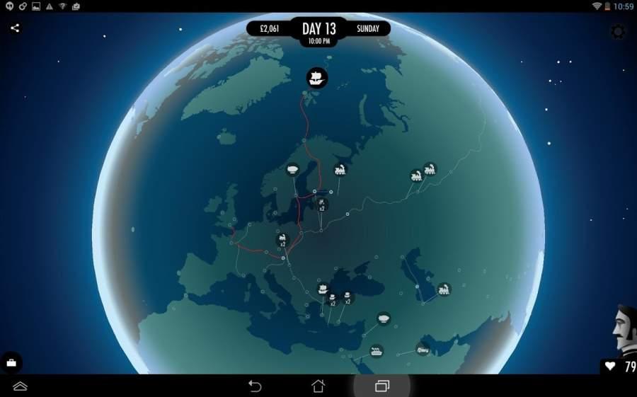 80天环游世界截图2