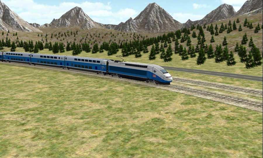 火车模拟截图0