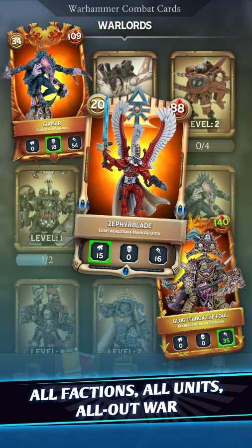 战锤40K:战斗卡牌截图1