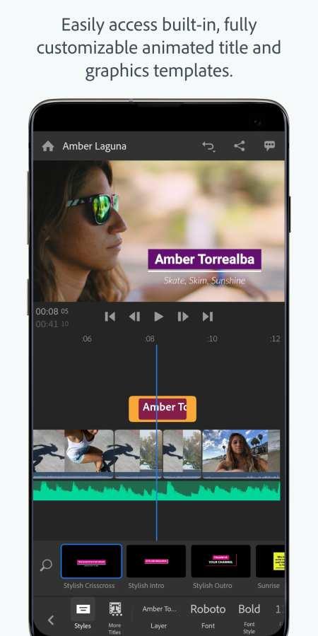 Adobe Premiere Rush 截图1