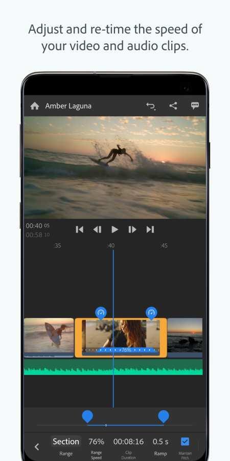 Adobe Premiere Rush 截图3