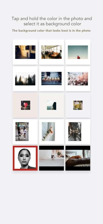 NewBorder - 方形编辑照片截图1