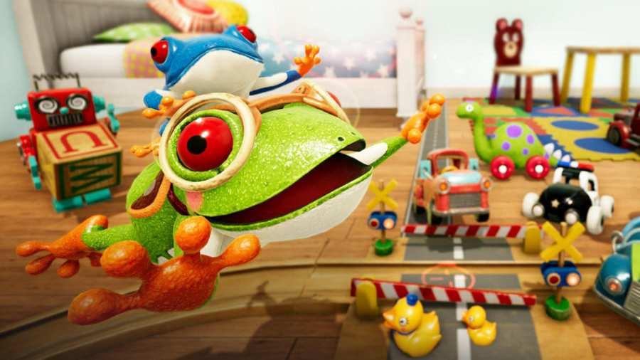 玩具城里的青蛙