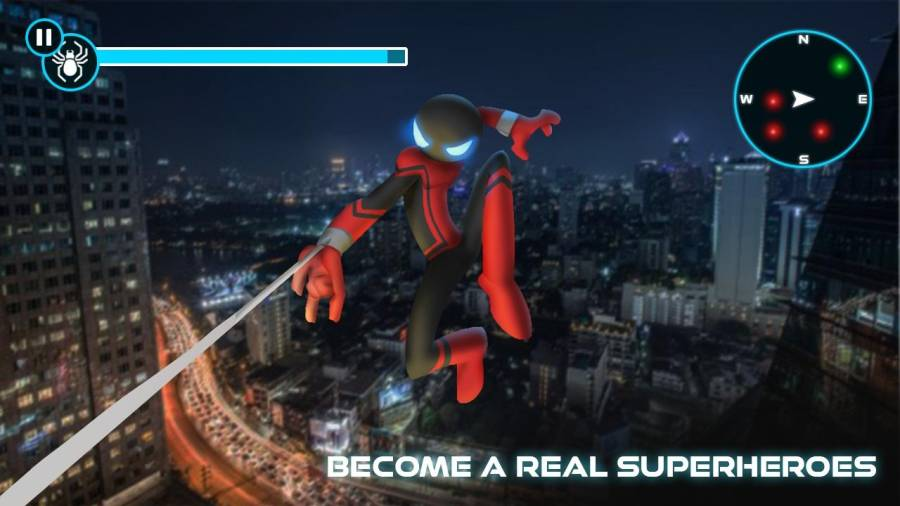 火柴人蜘蛛侠截图0