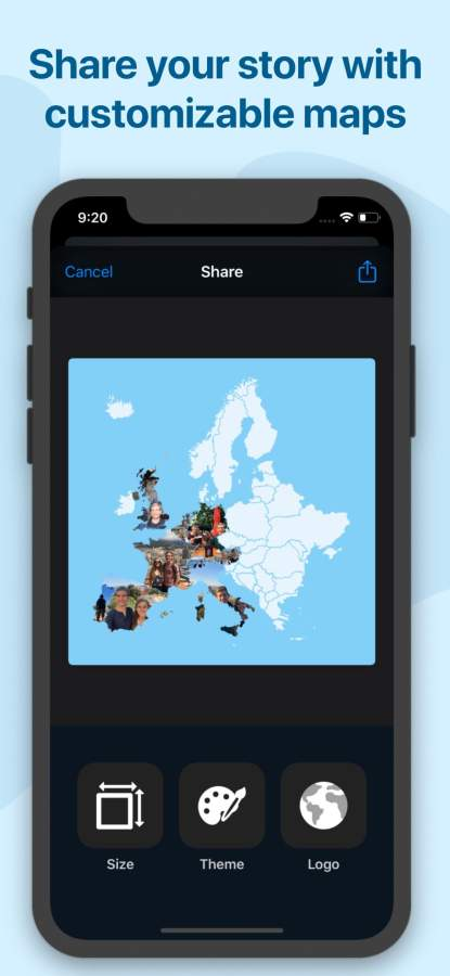 Photo Map — US, Europe, & More截图4