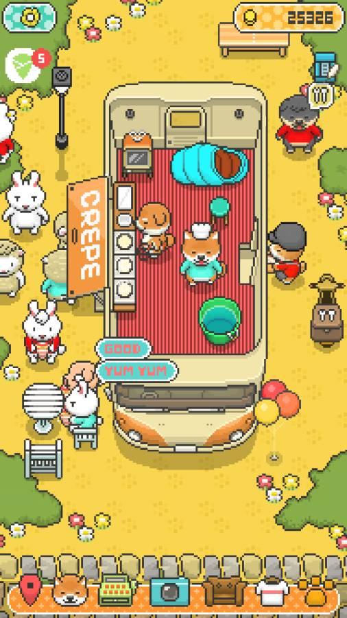 小狗绉纱店:烹饪厨师 截图0