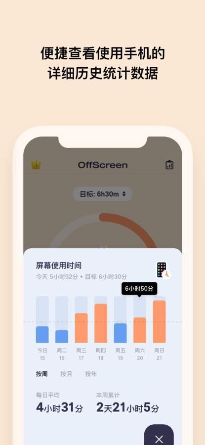 OffScreen - 屏幕时间统计截图3