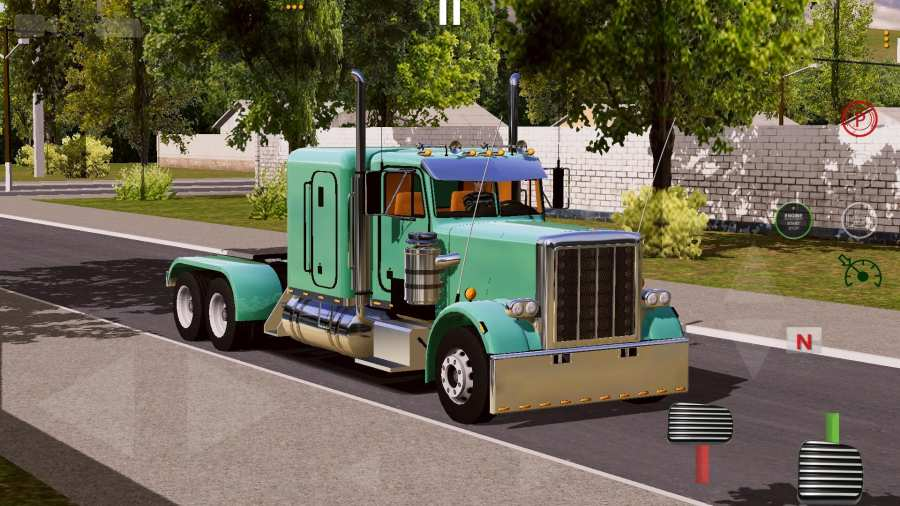 世界卡车驾驶模拟器截图0
