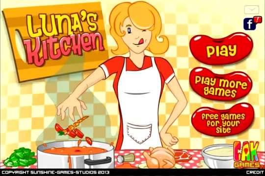 露娜开放式厨房截图0