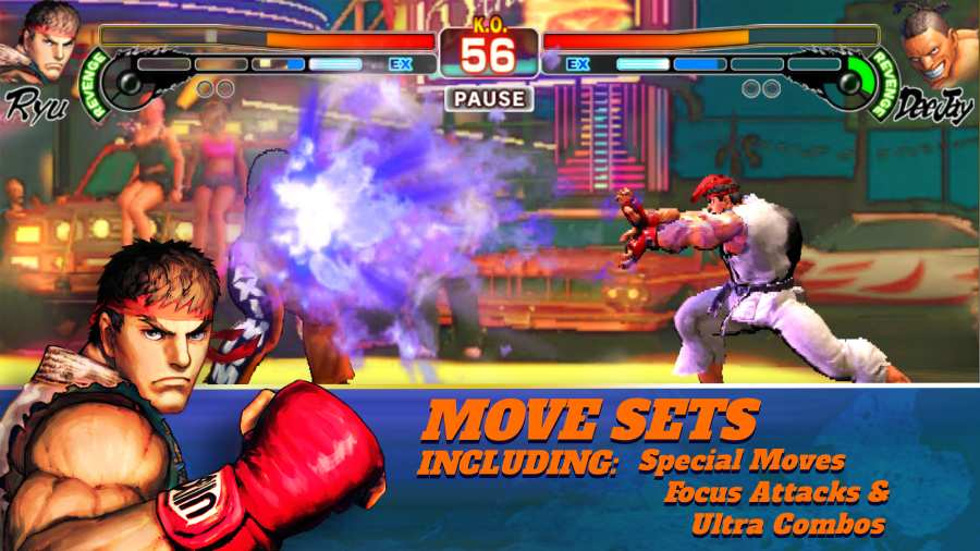 街头霸王4:冠军版 Street Fighter IV:Champion截图1