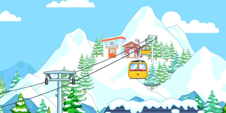 我的城市:滑雪場截圖1
