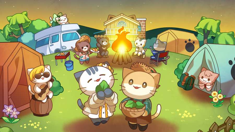 猫咪森林:治愈露营截图0