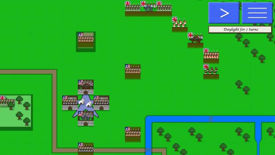 像素兵团:萨拉托加战役截图4