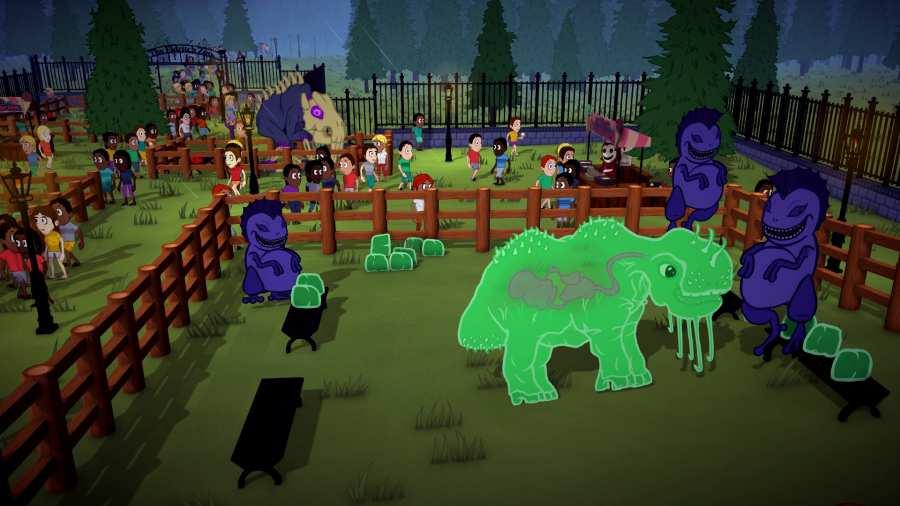 恐怖动物园管理员