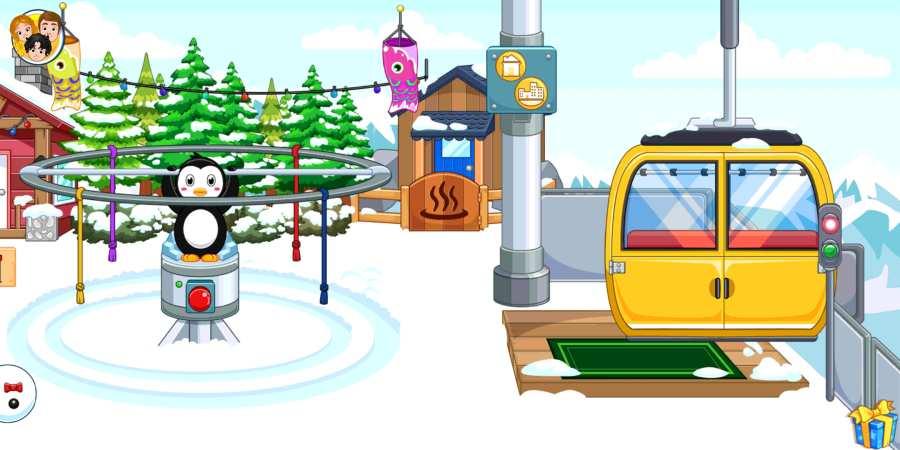 我的城市:滑雪场截图0