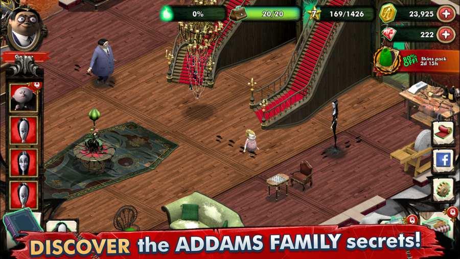 亚当斯一家:神秘宅邸 测试版截图1