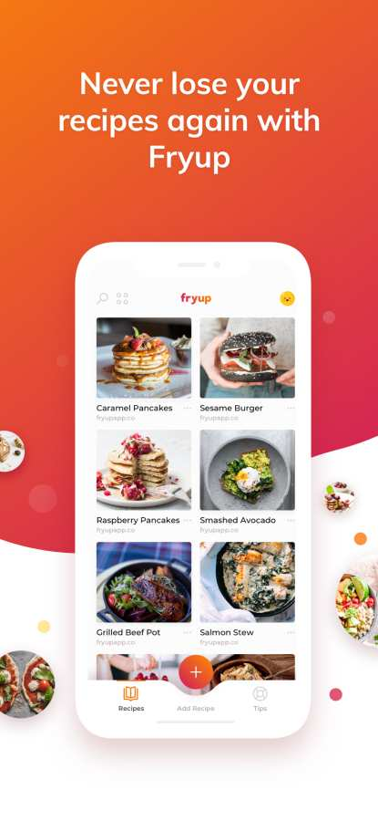Fryup - 整理你的菜谱截图0