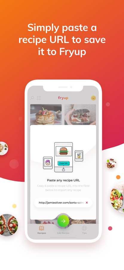 Fryup - 整理你的菜谱截图1