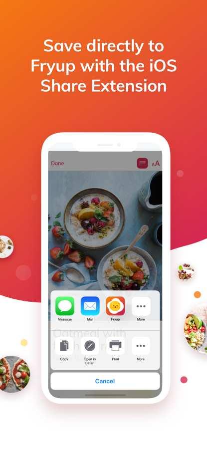 Fryup - 整理你的菜谱截图2