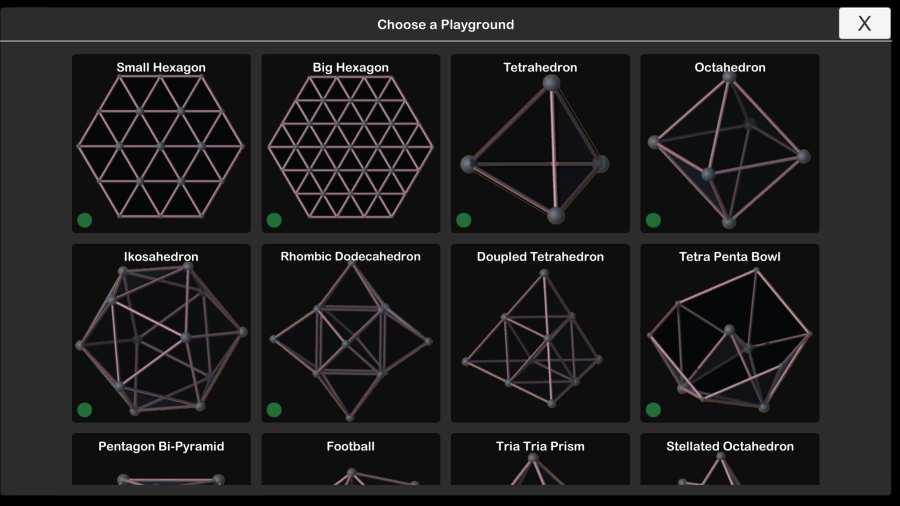 旋转三角形3D截图1