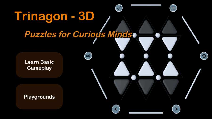 旋转三角形3D截图2