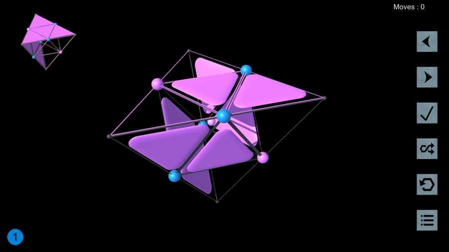 旋转三角形3D截图3