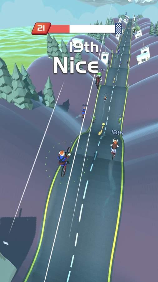 自行车山丘