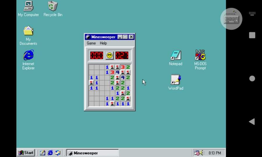 Win98模拟器截图0