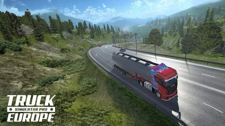 欧洲重卡车模拟截图1