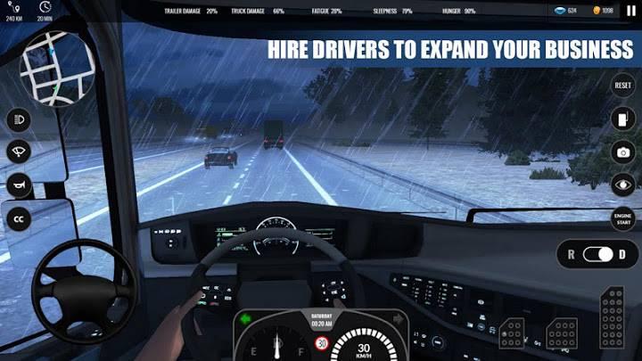 欧洲重卡车模拟截图2