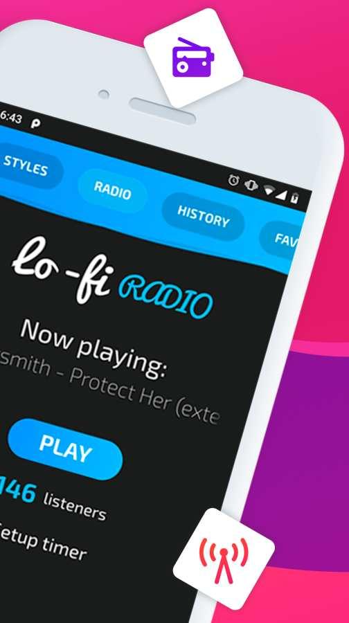 Lo-fi 24/7 Hip Hop Radio截图1