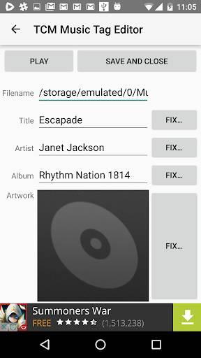 TCM 音乐标签编辑器截图1